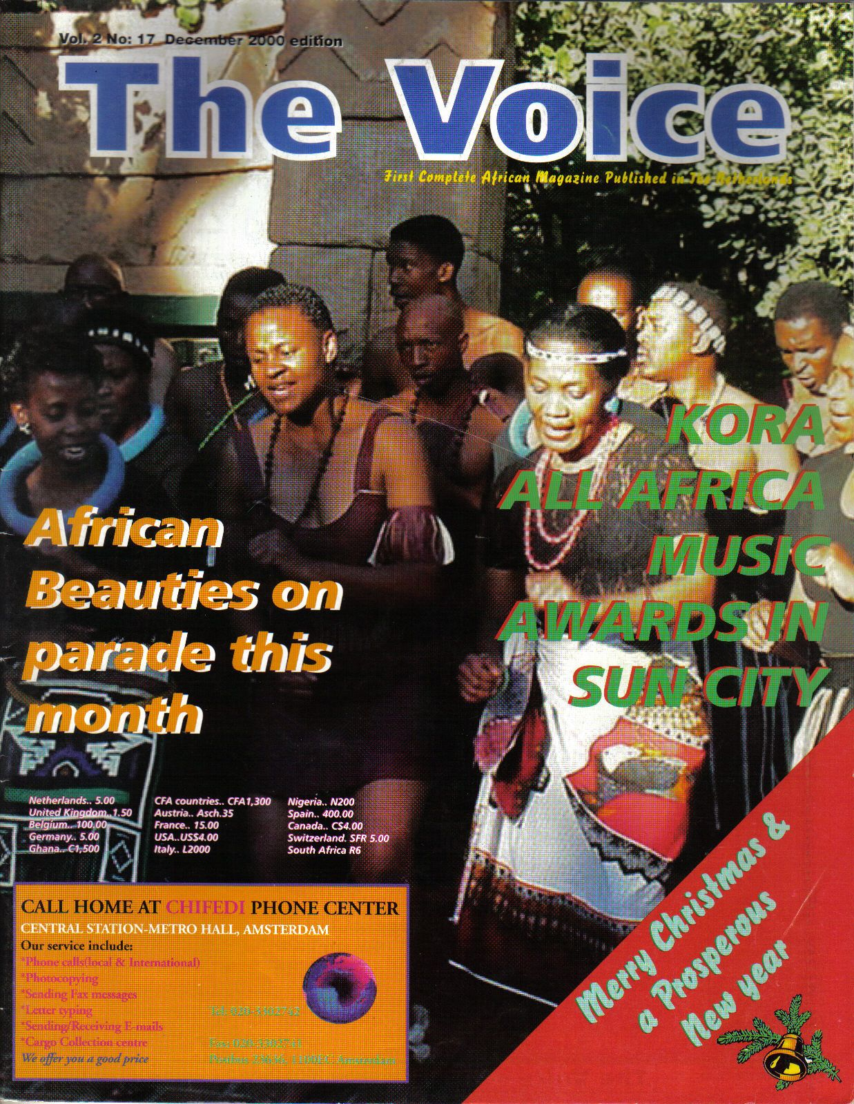Cover Page for The Voice magazine issue No 17