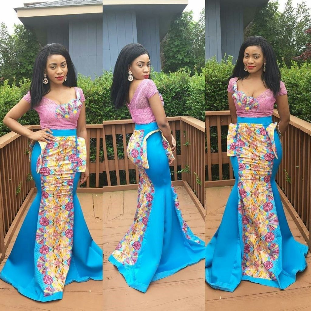 Mishono Ya Vitenge 2019 You Will Admire Ankara Gown Styles African Fashion African Dresses For Women
