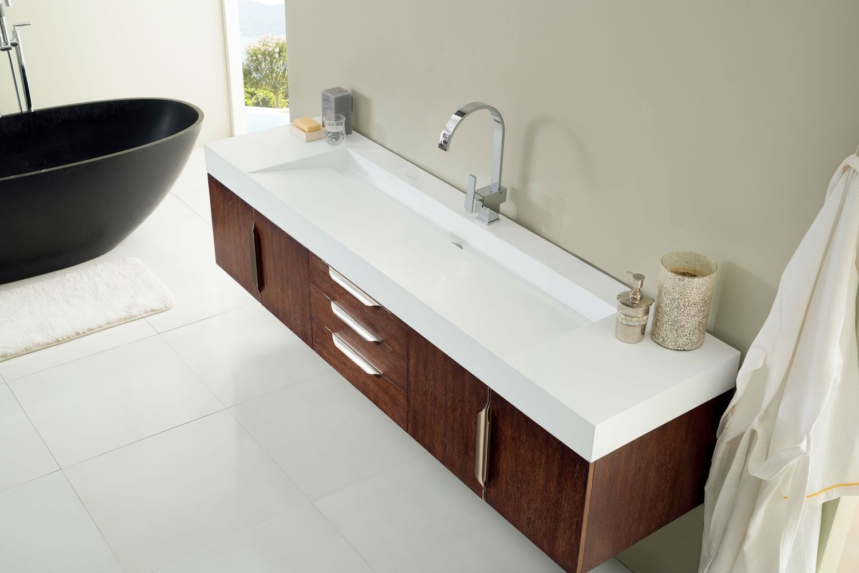 72 Mercer Island Single Bathroom Vanity Coffee Oak Double Sink Vanity Top Oak Bathroom Vanity Modern Bathroom Vanity
