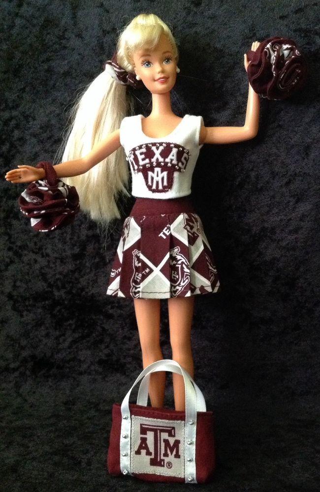 Texas A Amp M Barbie Cheerleader Uniform A Amp M University