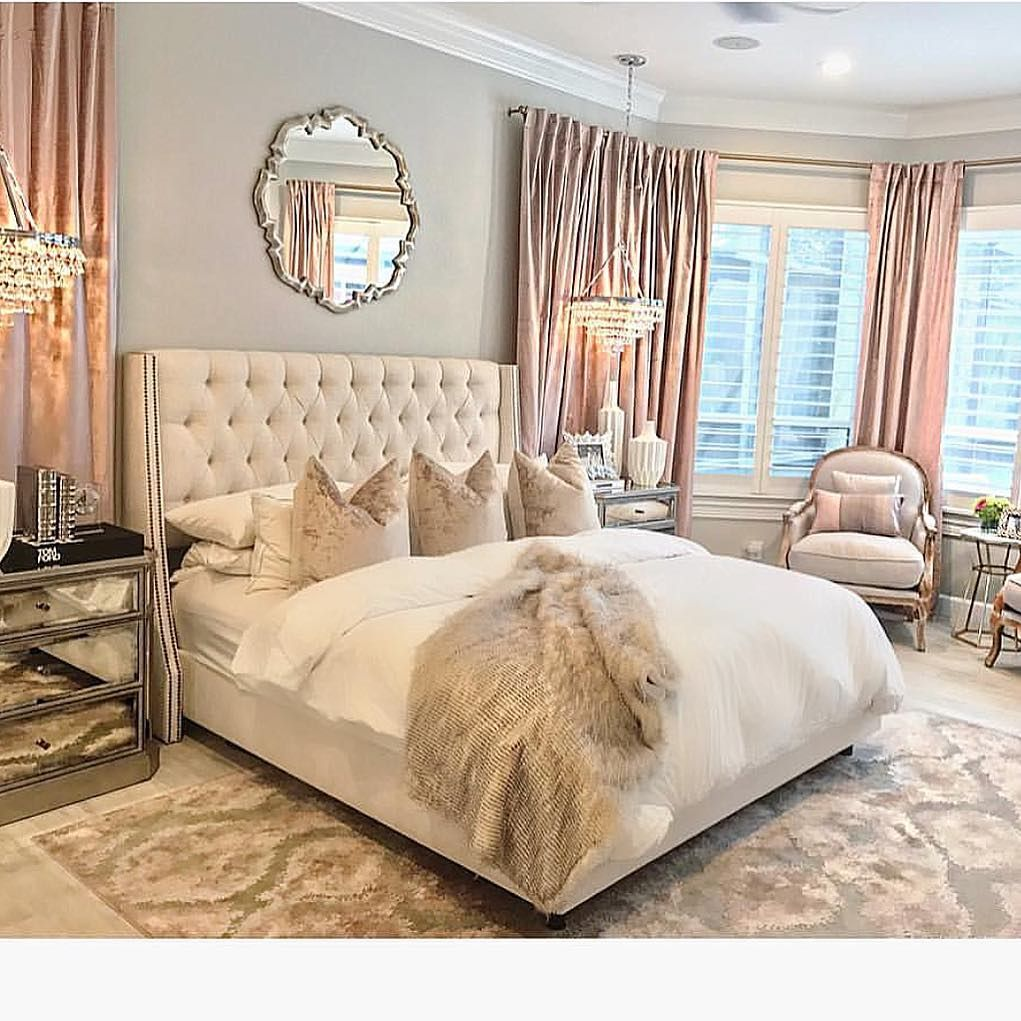 Pin by August Rose Boutique on For the Home | Glam bedroom ...