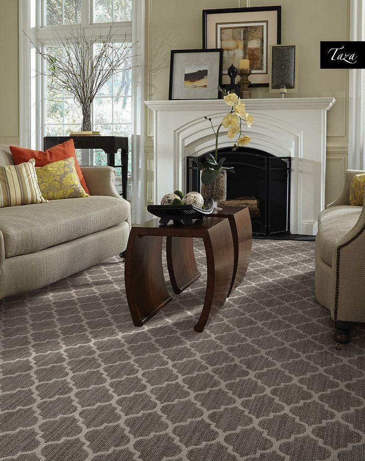 Tuftex Taza   Living room carpet, Carpet design, Patterned ...