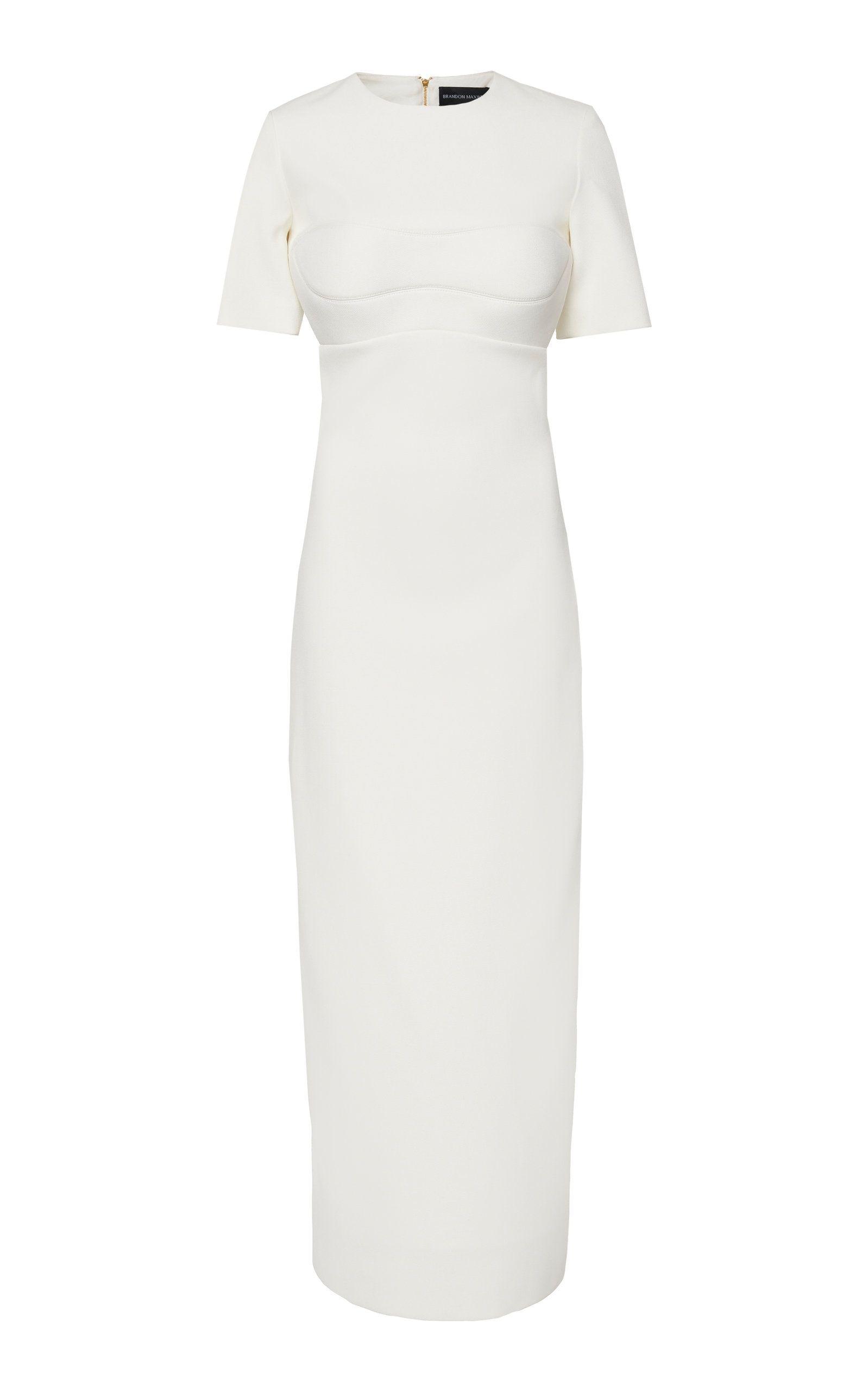 06fb960c642 Backless Cady Maxi Dress by BRANDON MAXWELL for Preorder on Moda Operandi