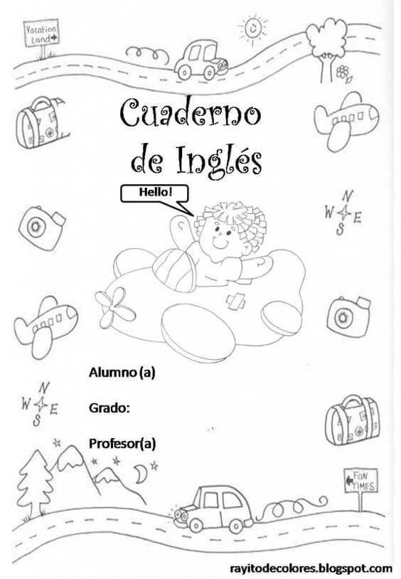 Caratulas Para Cuadernos Imágenes Imprimir Dibujos Fotos