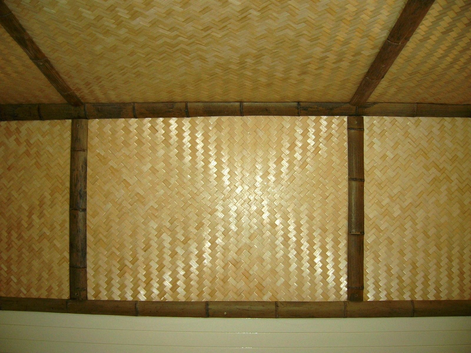 bamboo matting ceiling - Google Search | bamboo | Pinterest ...