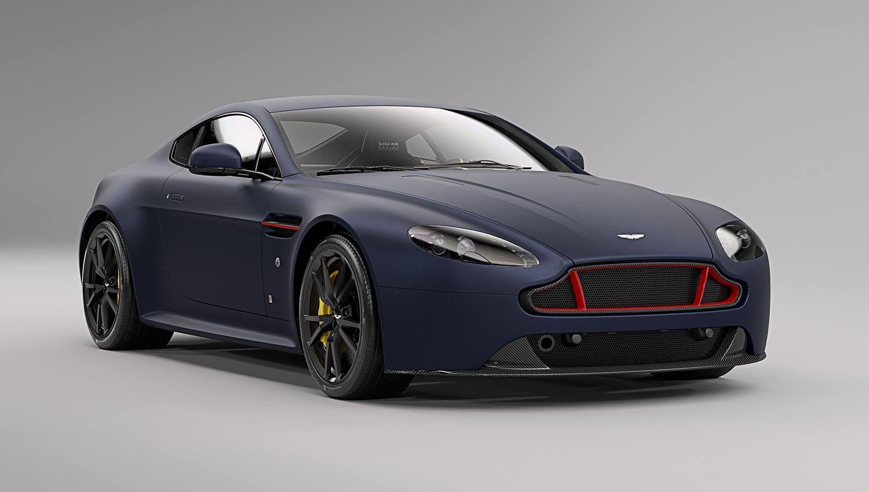 Aston Martin Vantage S Matte Blue Red Bull Racing Edition Autodesign Autos