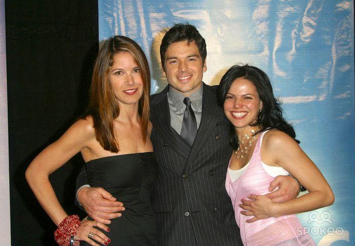 """Nina Garbiras, Jason Gedrick, Lana Parrilla - (""""Boomtown') - NBC Tca Party - Bliss, Los Angeles, CA - January 17, 2003 - Photo by Nina Prommer/Globe Photos Inc2003"""