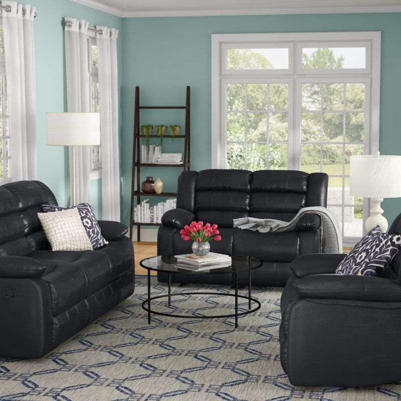 Piece Living Room Set, Studio Collection 3 Piece Furniture Set