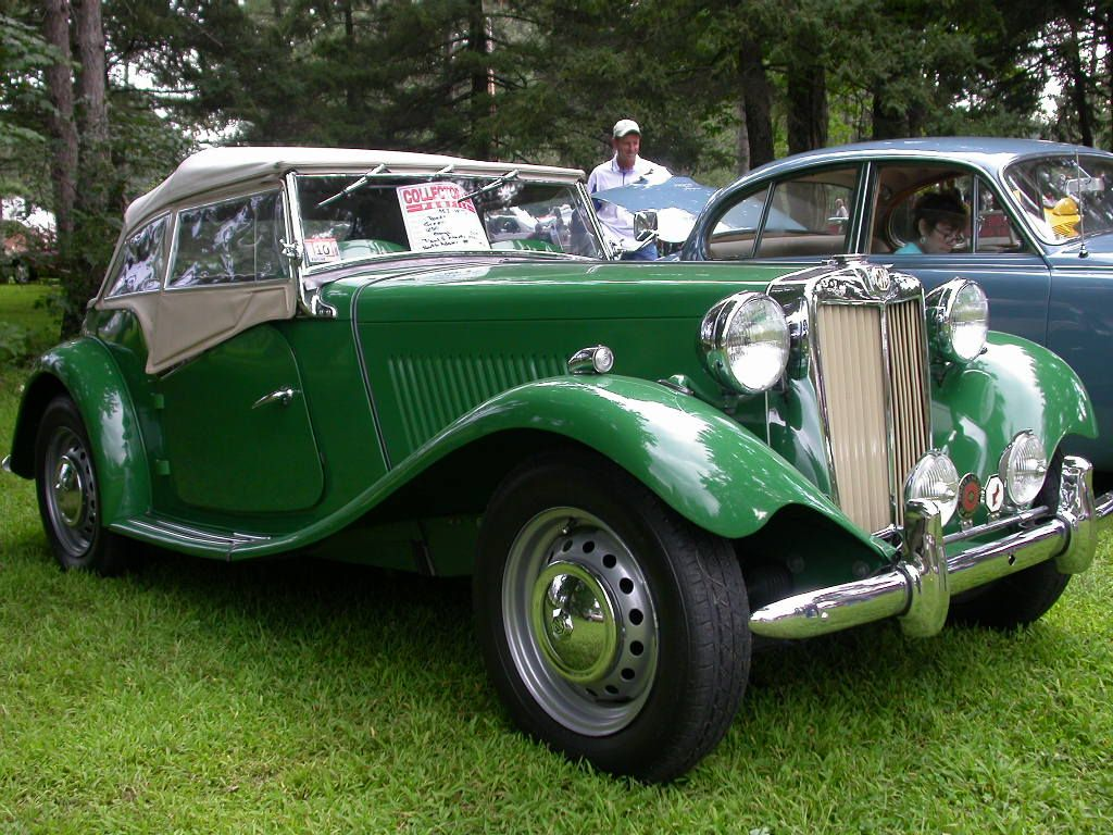 MGTD, British racing green! Whether you\'re interested in restoring ...