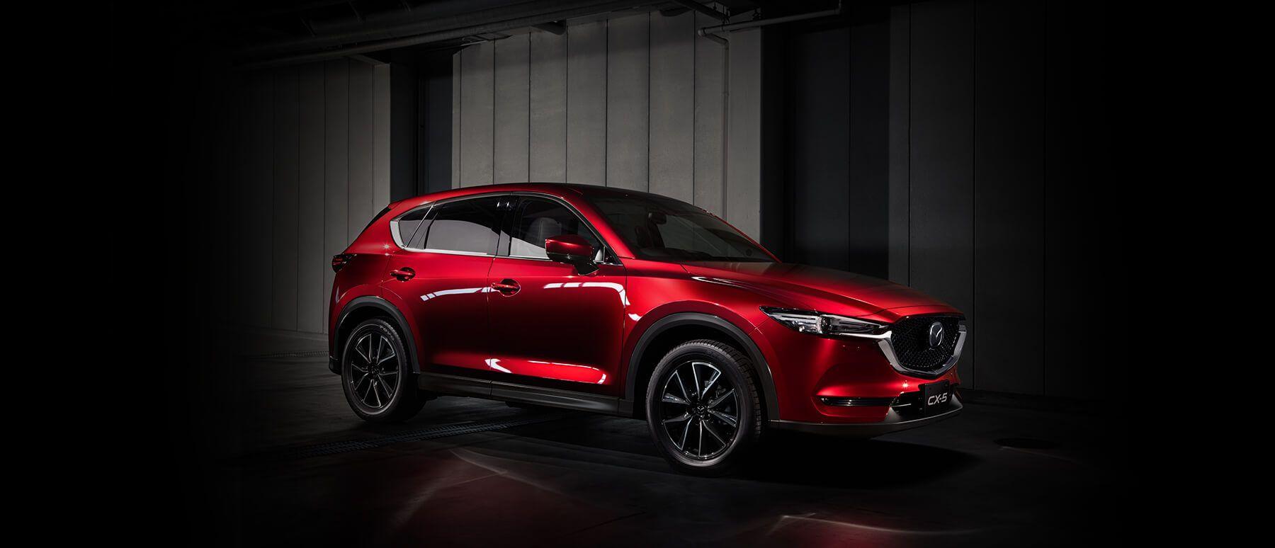 The New 2017 Mazda CX 5 Crossover SUV Fuel Efficient SUV