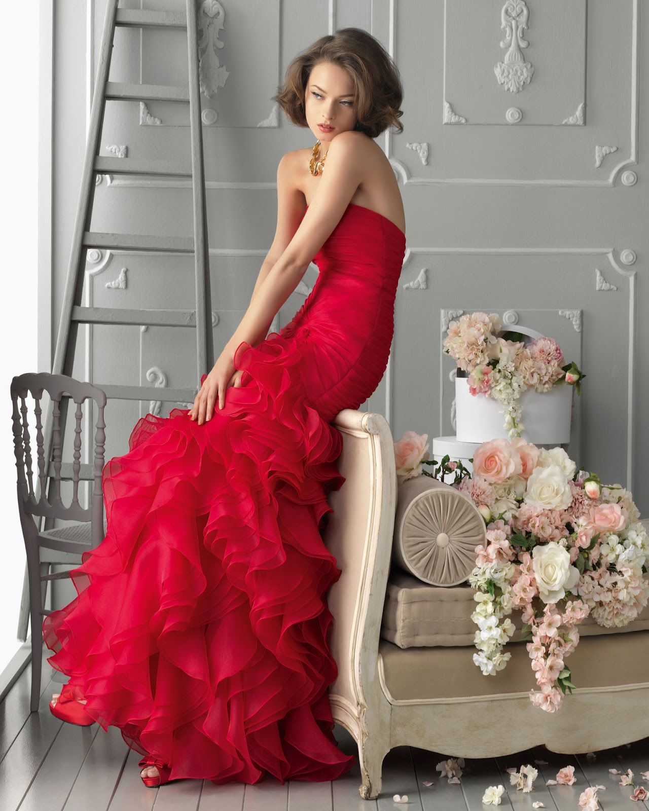 Red and classy