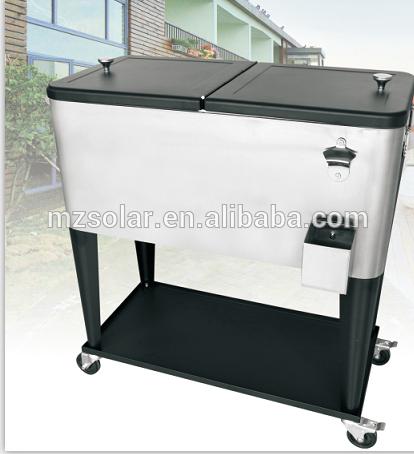 60qt 80qt 100l Premium Picnic Box Cooler Cart Cooler Cart Picnic Box Cooler Box