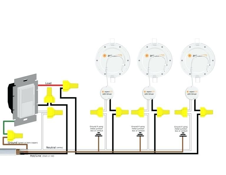 Recessed Can Light Wiring Diagram Wiring Diagram Daisy Chain Pot Lights Wiring Diagram In 2020 Downlights Electrical Energy Ignition System