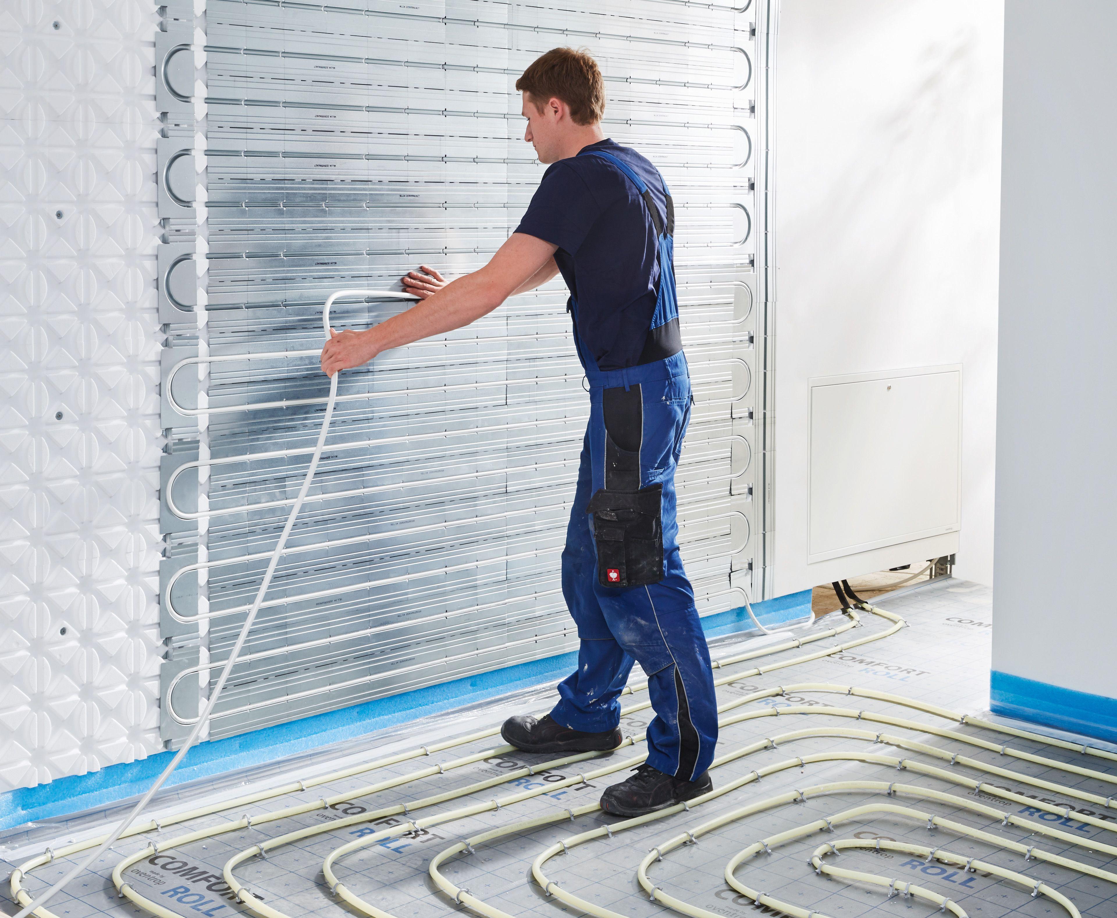 Sanibel Comfort Roll Optimierte Flachenwarme Und Kuhlung Haustechnik Heizkosten Sparen Wandheizung