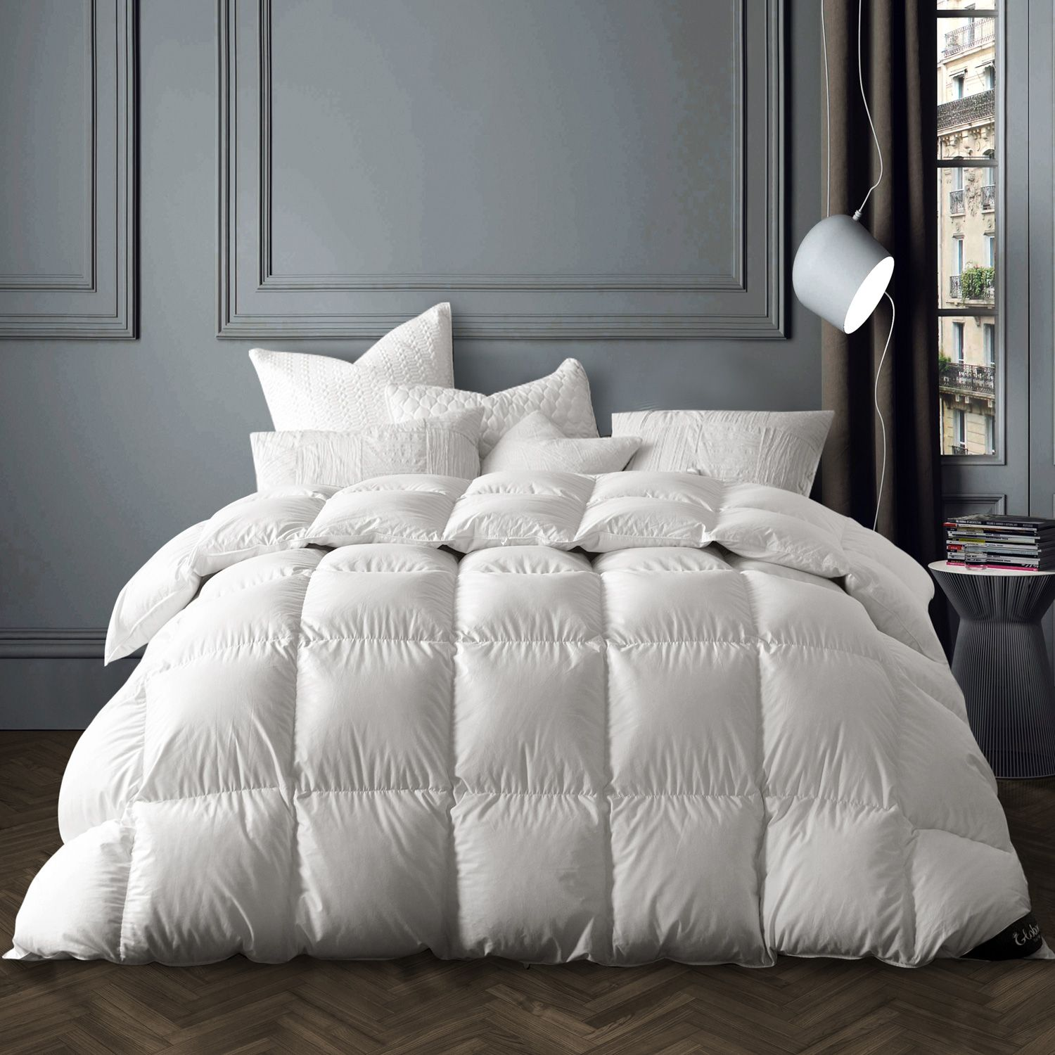 Globon Goose Down Comforter Winter Down Comforter Bed Comforters White Duvet