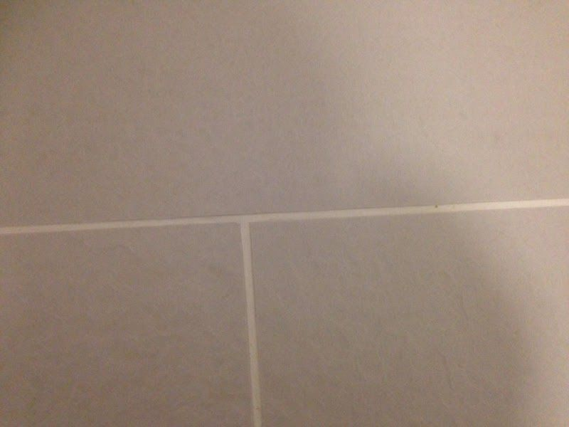 Dirty Grout Line On A Porcelain Tile Stone Floor Cleaning Uk