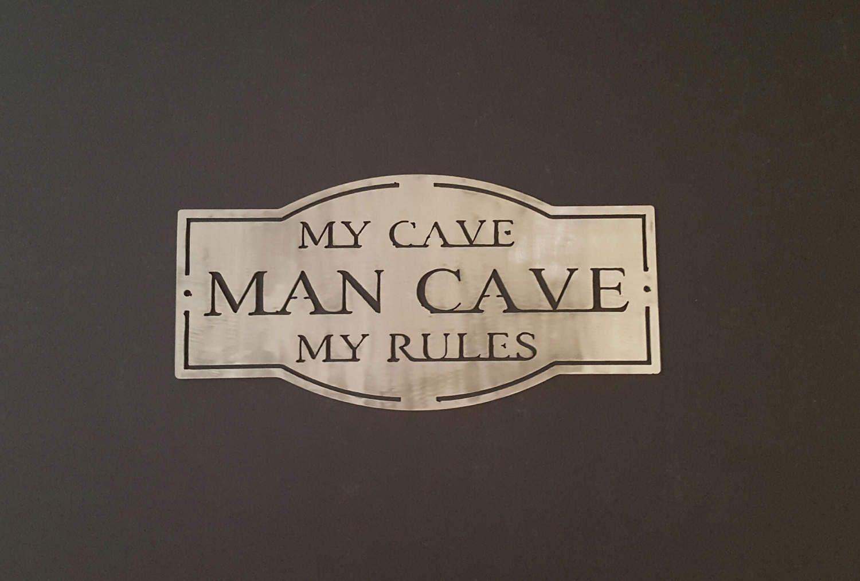 Man Cave Metal Art : Rustic metal art wall plaque man cave p men