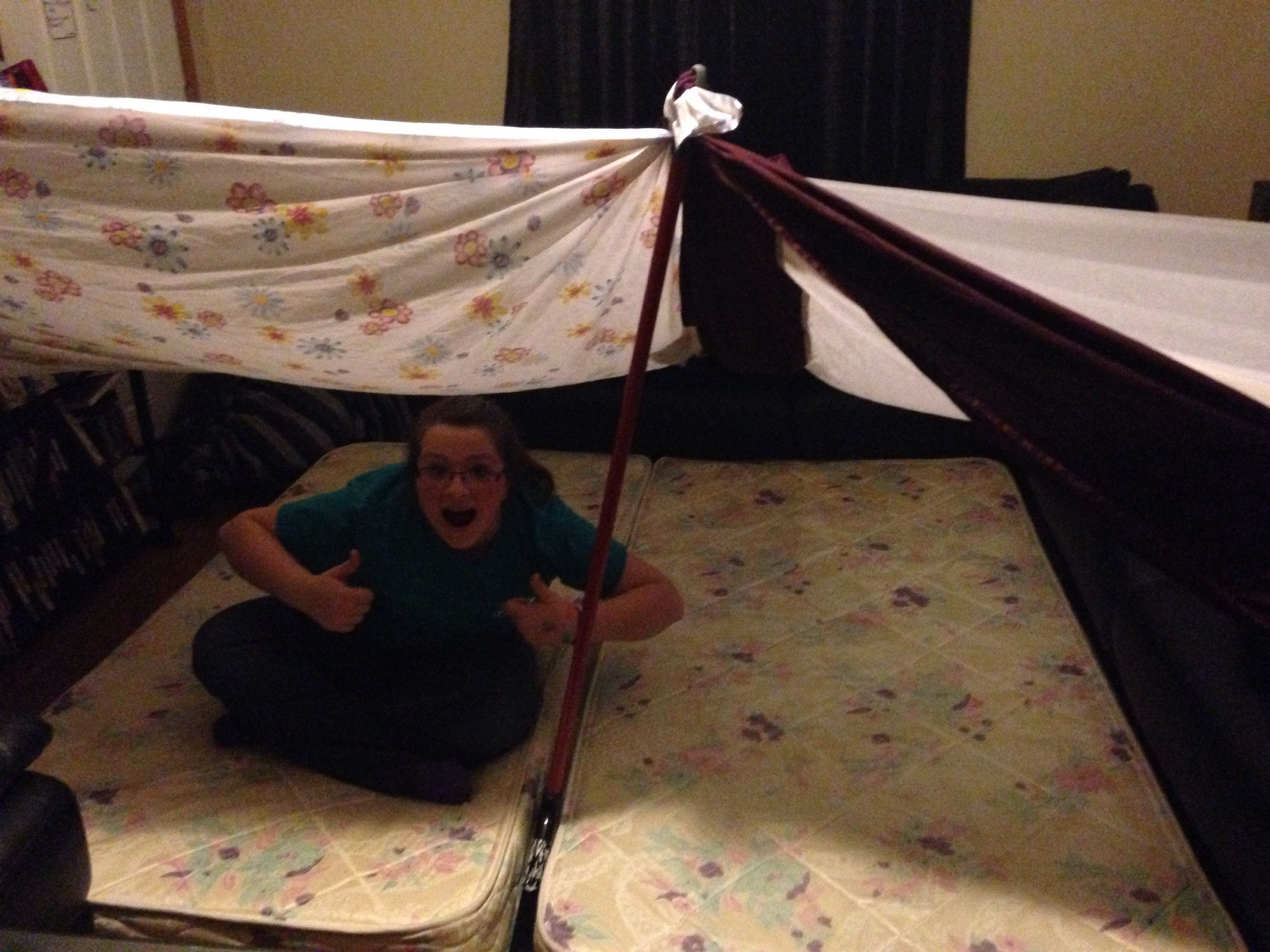 Makeshift fort only plus shipping and handling kool