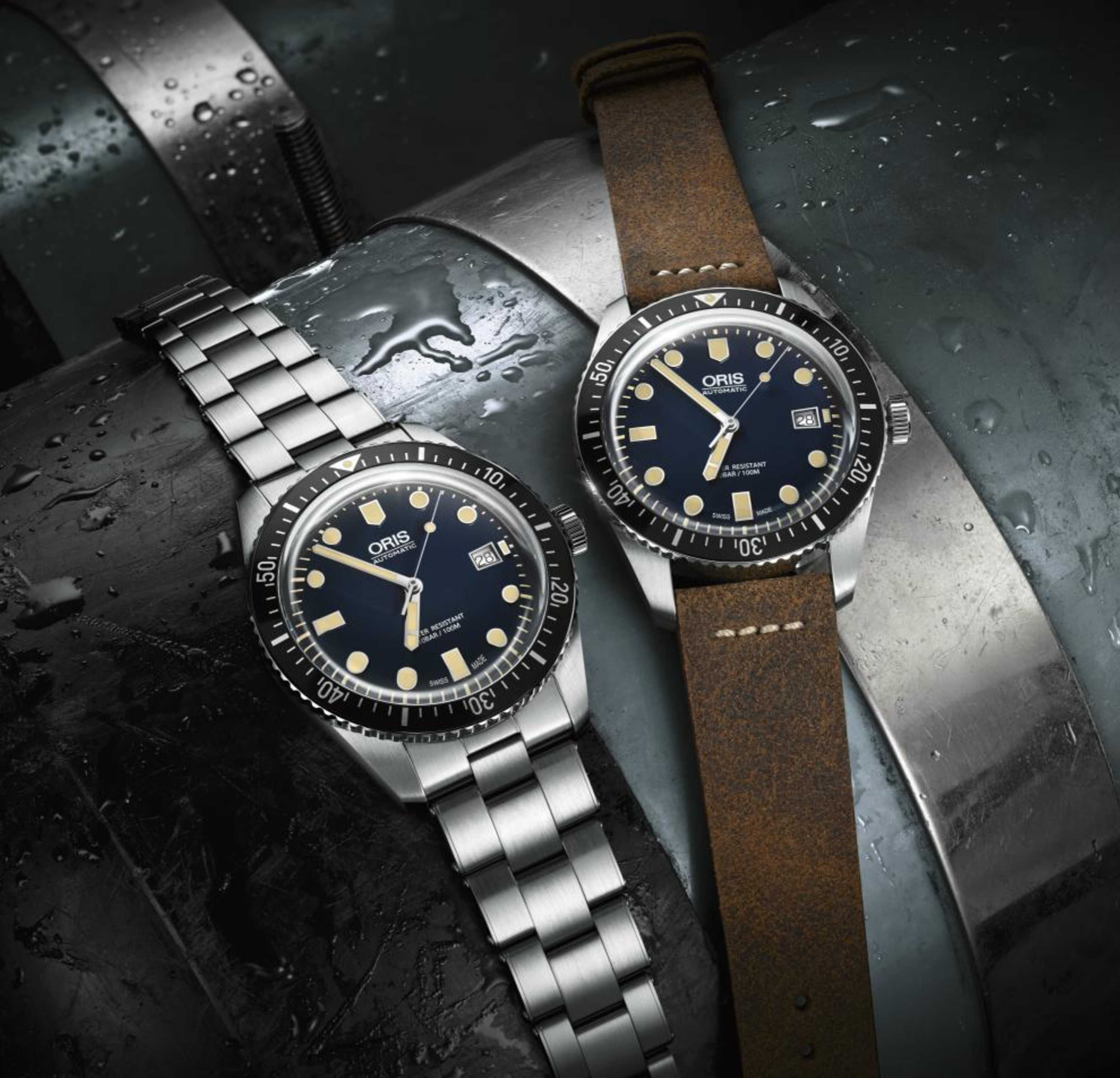 2f97905fd3e Oris goes back 50 years to reintroduce the Divers Sixty-Five