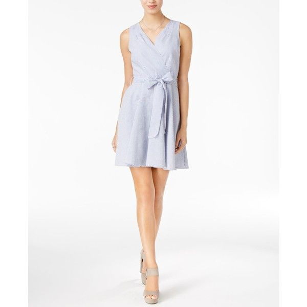 Maison Jules Fit Amp Flare Wrap Dress 72 Found On