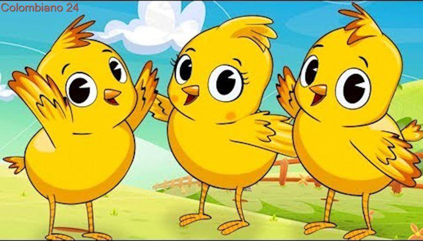 Los Pollitos Dicen Canciones Infantiles Canciones Infantiles Canciones De Niños Menú Para Niños De 1 Año