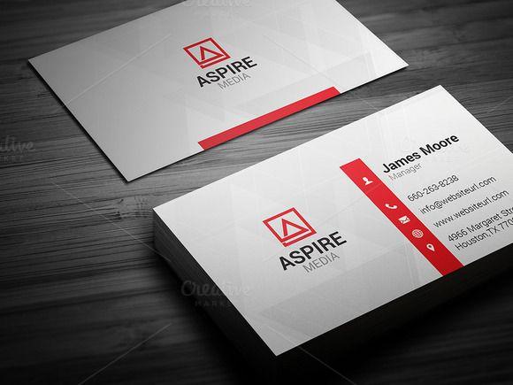 Simple Business Card Simple Business Cards Business Card Template Design Business Card Template