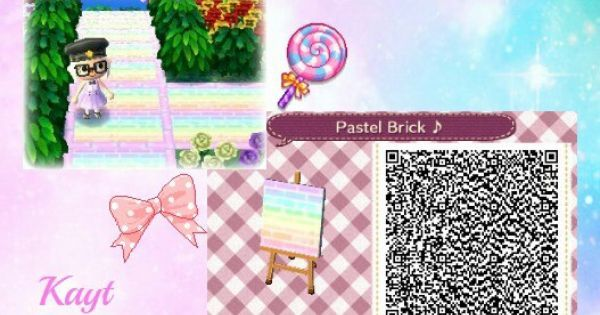 Pin Related Posts To Acnl Path Qr Codes Pink Wallpaper On