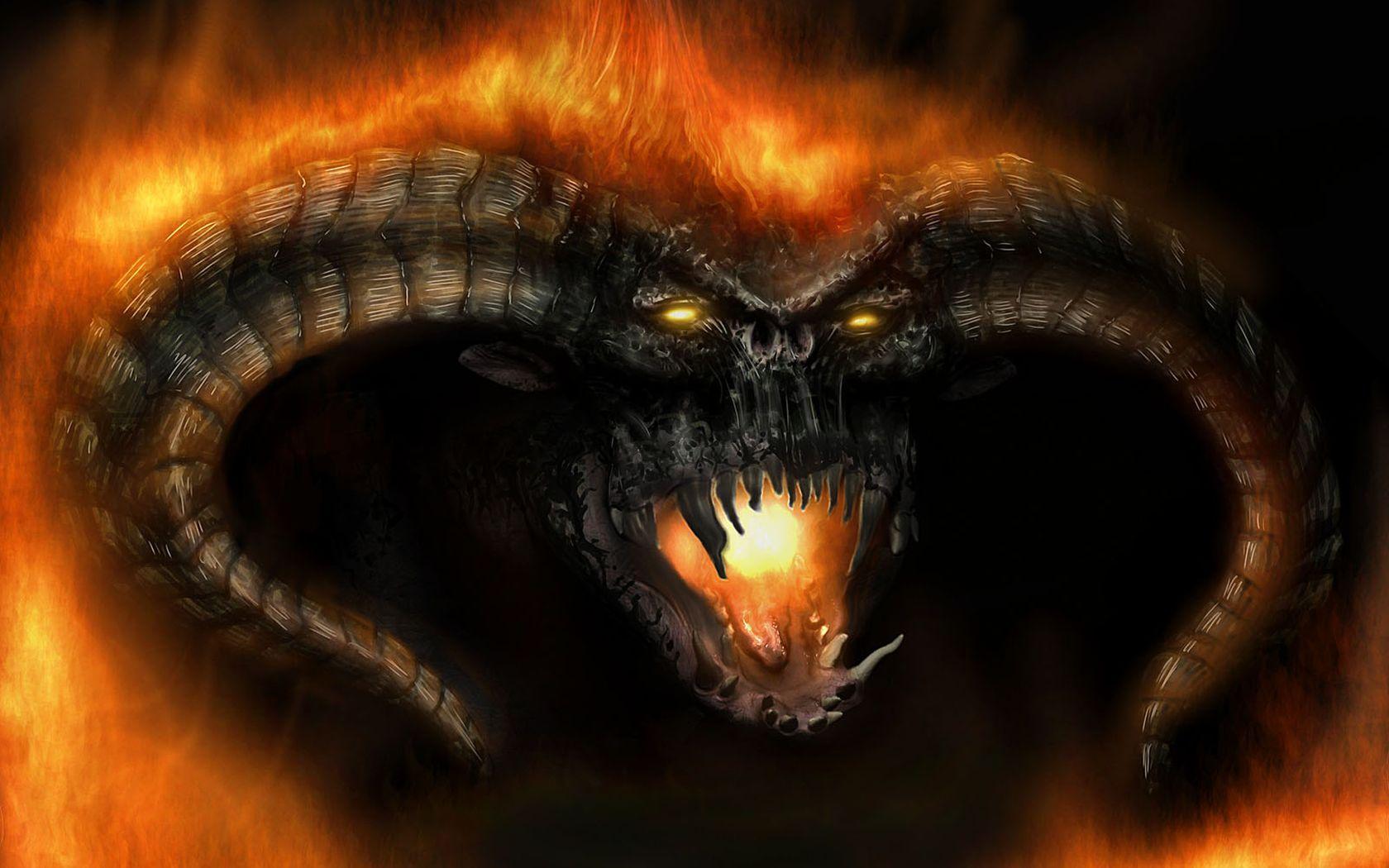 3d Fond Décran Dragon Dans Le Dragon De Feu Wallpaper
