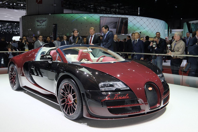 Bugatti Veyron Grand Sport Vitesse La Finale Live Photos 2015