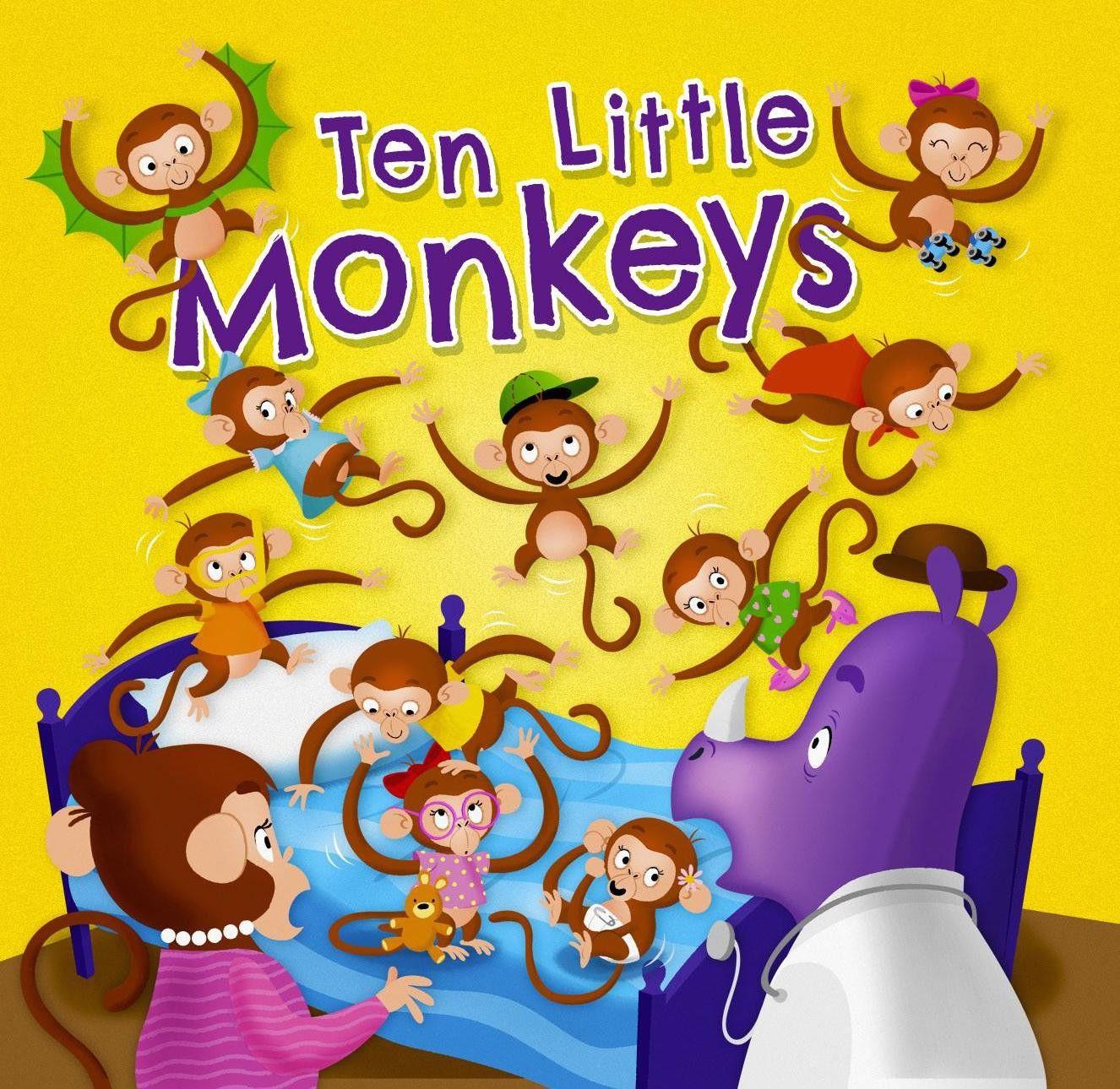 Nursery Rhyme Time Ten Little Monkeys
