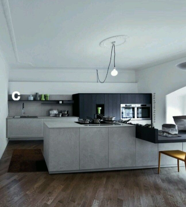 kitchen concrete kitchen k chen dining esszimmer. Black Bedroom Furniture Sets. Home Design Ideas