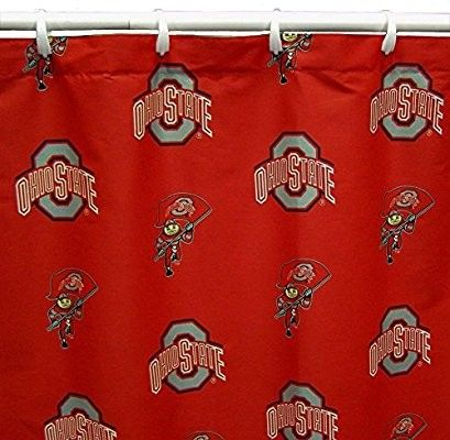 Pin By Jay R Hochmuth On Ohio State Decorating Ohio State Print Printed Shower Curtain Ohio State