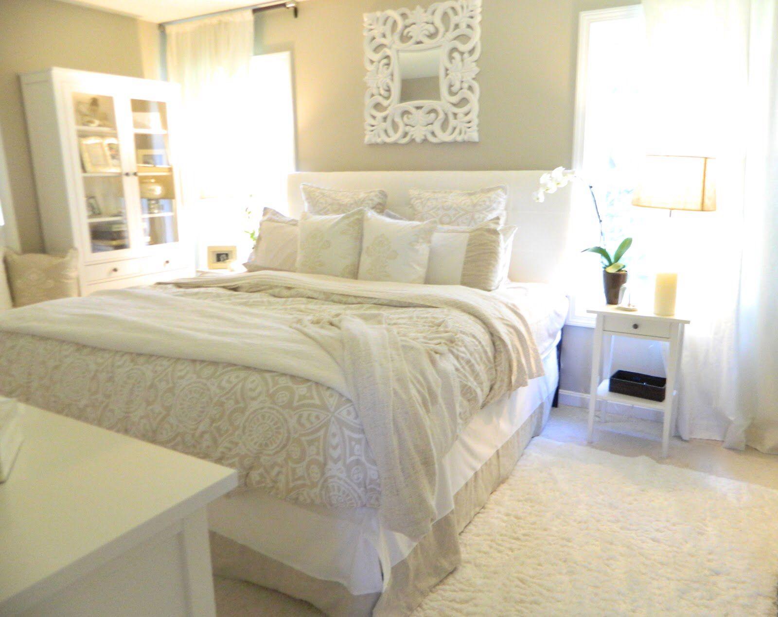 Best Master Bedroom Neutral Beige Beige Master Bedroom 400 x 300