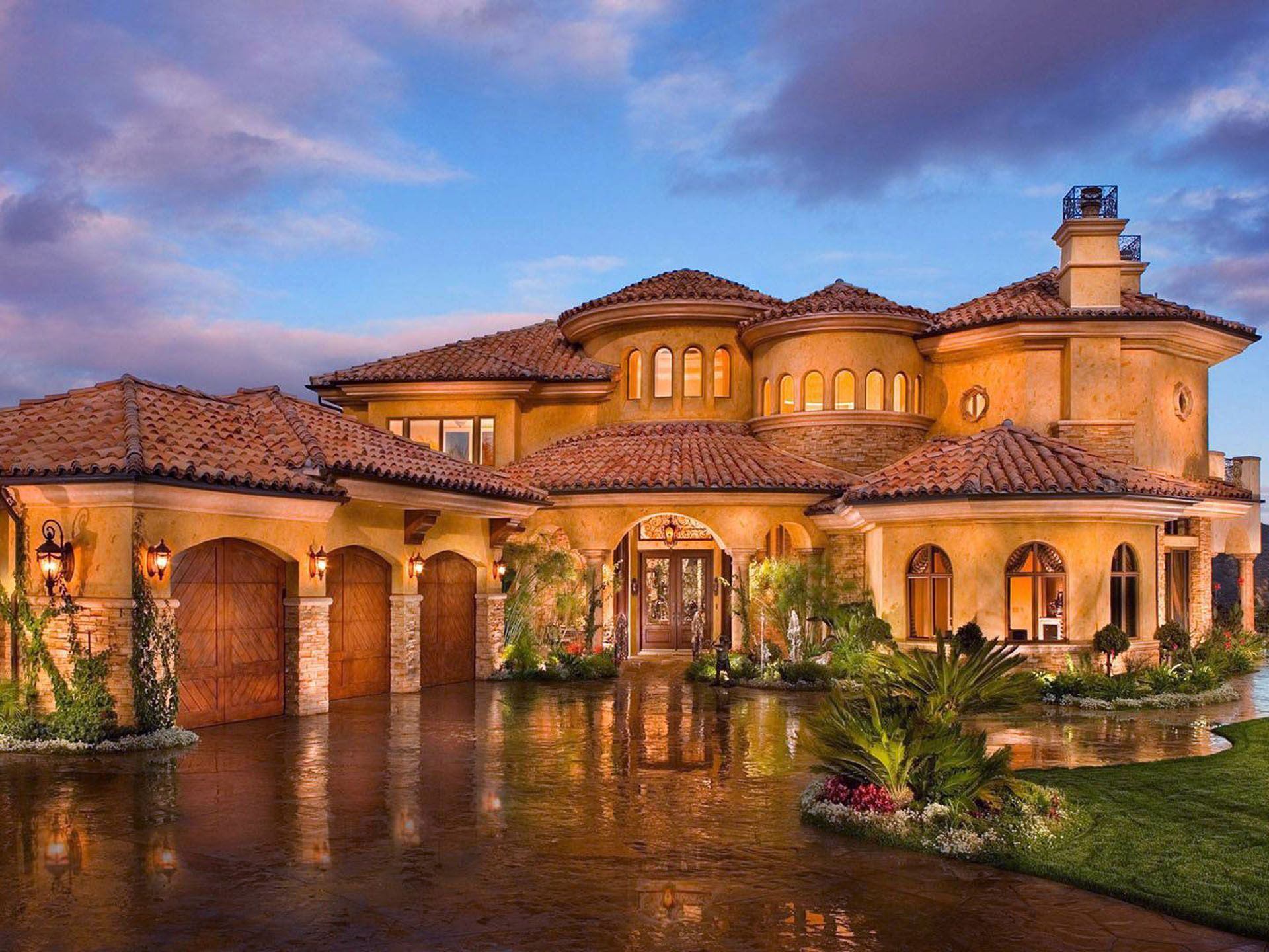 Mediterranean style home designers in az - Mediterranean Home Spanish Style Exterior Design Ideas Pictures Remodel And Decor Page 4