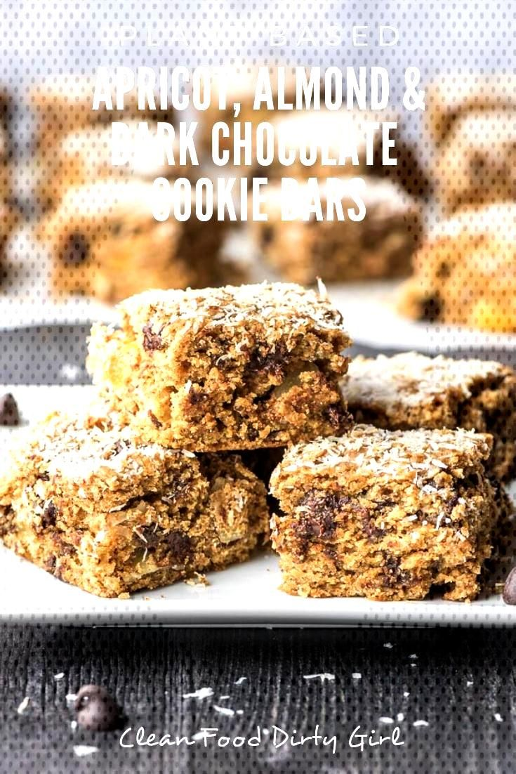 Whole Food Plant Based Camping + Apricot, Almond and Dark Chocolate Cookie Bars Apricot, Almond and