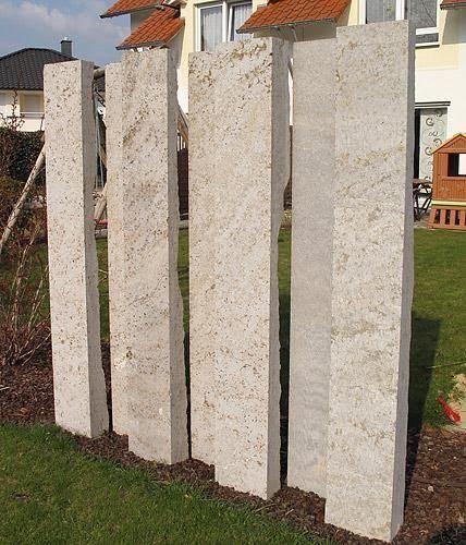Sichtschutz - Ideen aus Stein, Geflecht, Holz und Stoff - garten sichtschutz stein