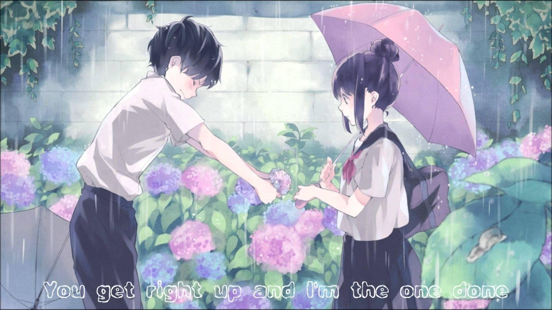 Nightcore B Team Romantic Anime Anime Love Couple Anime Wallpaper
