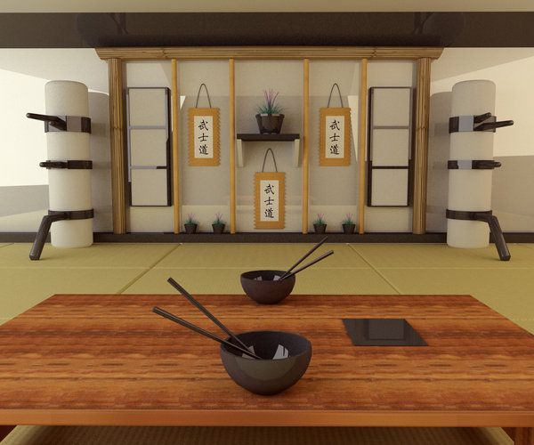 Japanese Style Interiors minimalist asian kitchen--nice trend :) | dream home | pinterest