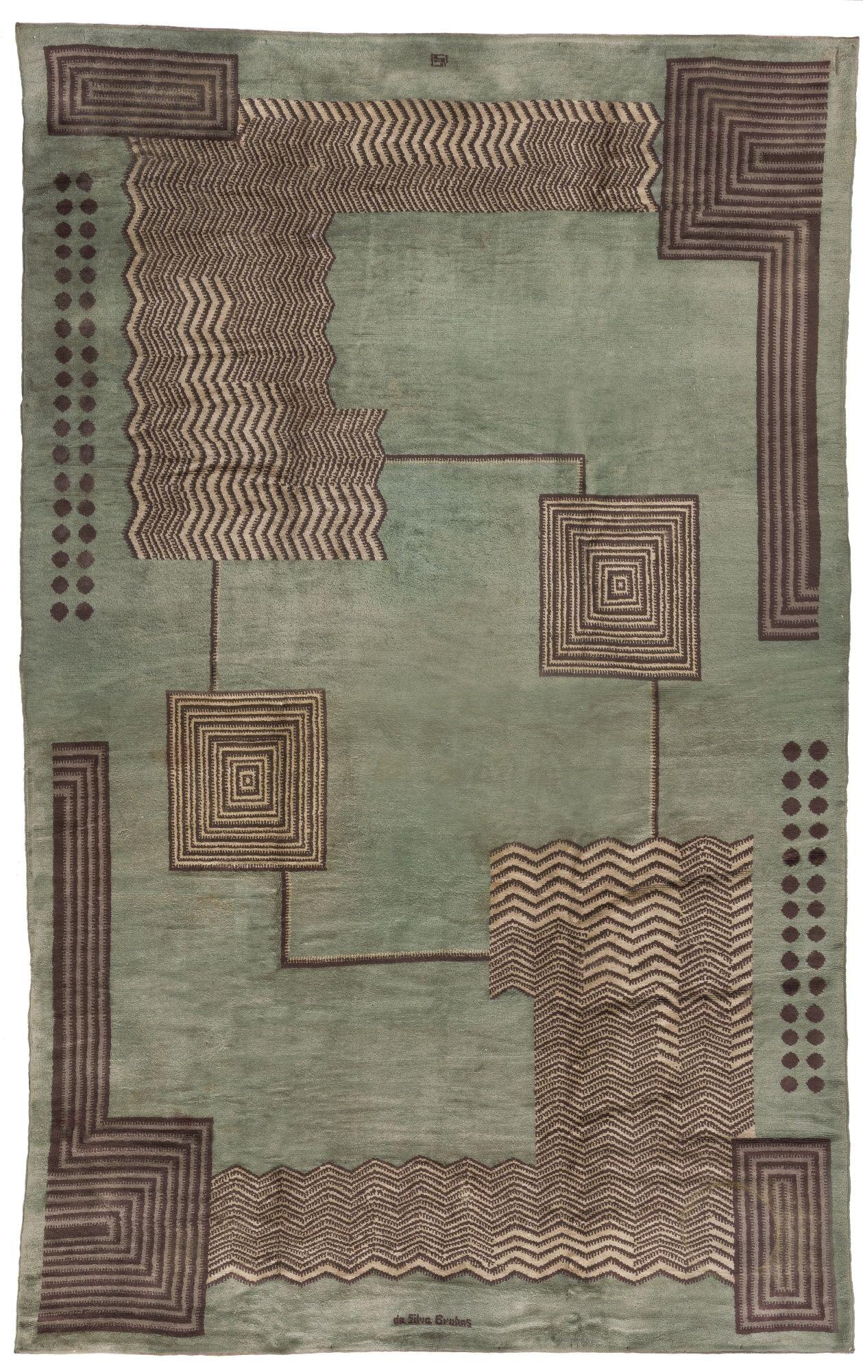 Ivan Da Silva Bruhns Lot Sotheby S Art Deco Rugs Rugs On Carpet Art Deco Design