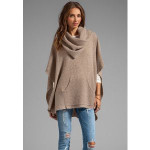 Turtleneck Poncho Sweater | Style | Pinterest | Poncho sweater ...