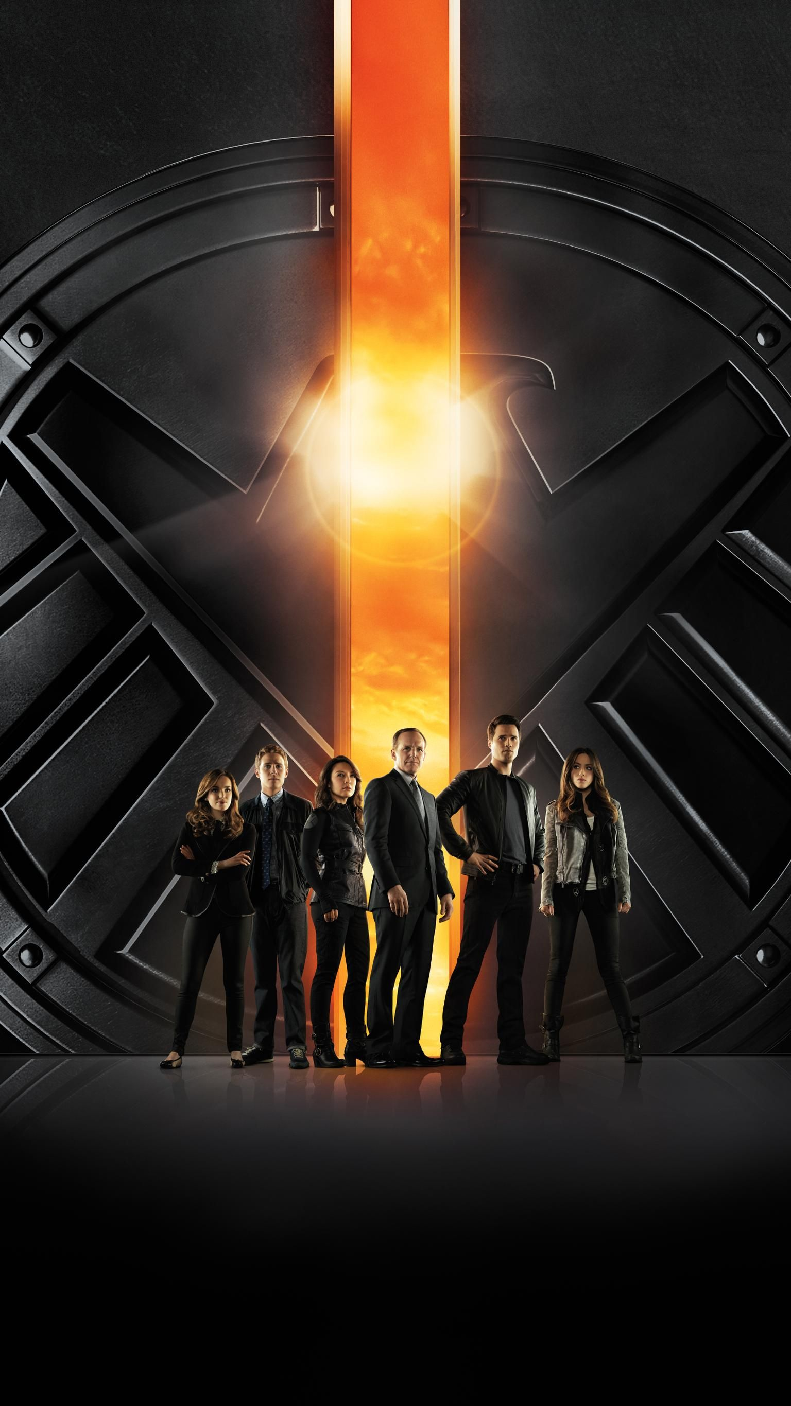 Marvel S Agents Of S H I E L D Phone Wallpaper Moviemania Agents Of Shield Marvels Agents Of Shield Marvel Shield