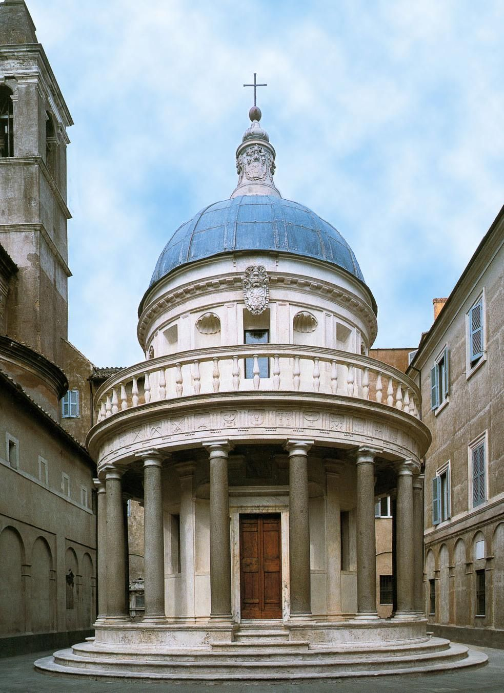 ARCHITETTURA RINASCIMENTALE Tempietto Di S Pietro In Montorio A