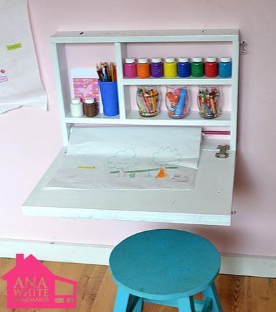 Bekijk de foto van sonoio met als titel opvouwbare knutseltafel voor kinderen. Handig als je weinig plaats hebt.   en andere inspirerende plaatjes op Welke.nl.