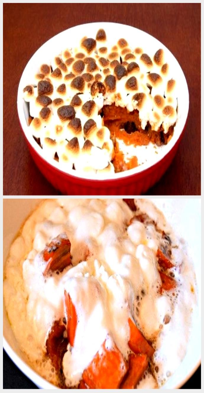 Must-have on the Thanksgiving table: Sweet Potato Casserole With Marshmallows (e...