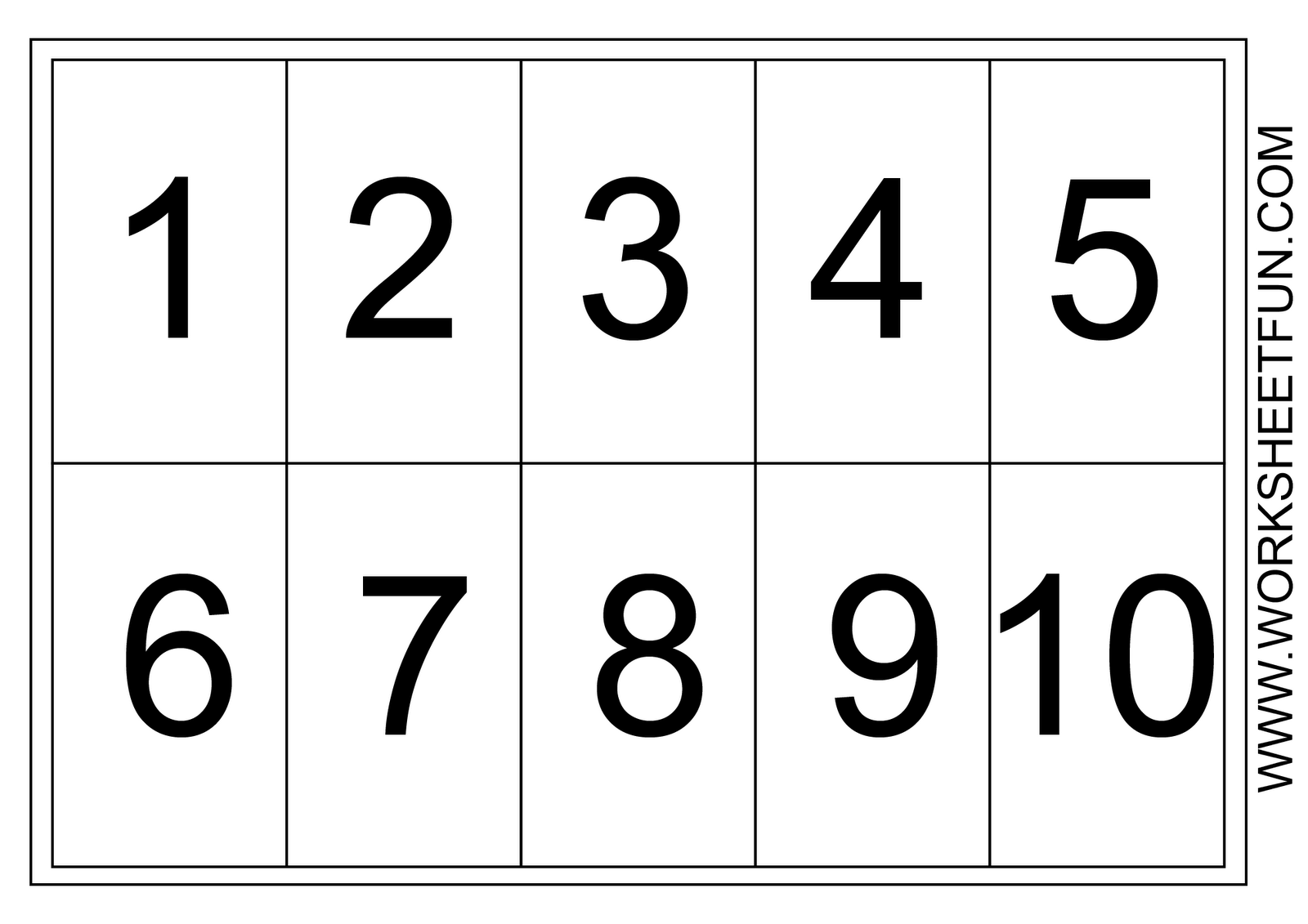 It's just an image of Enterprising Free Printable Number Chart