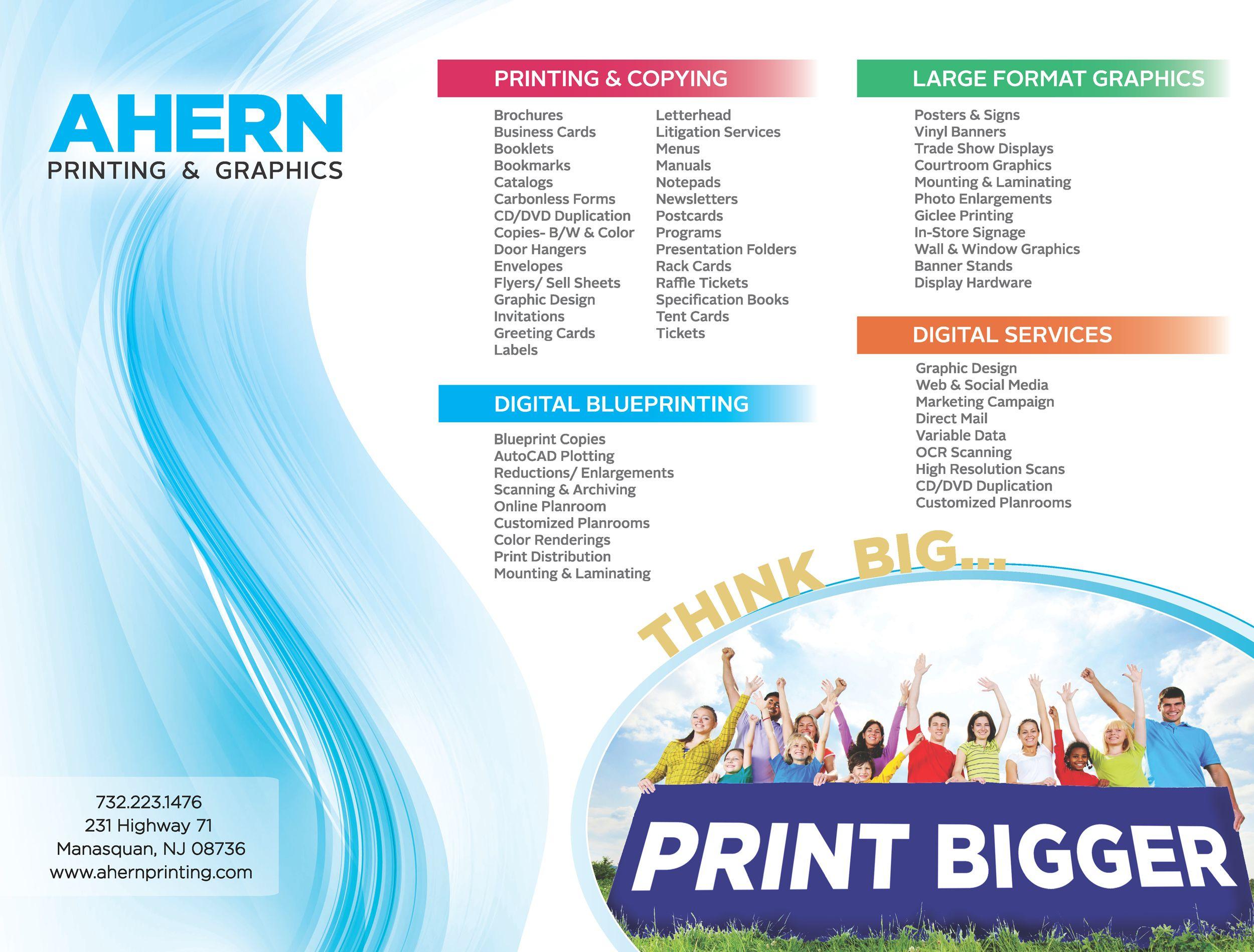 Ahern printing brochure inside large format printing ahern ahern printing brochure inside large format printing malvernweather Images