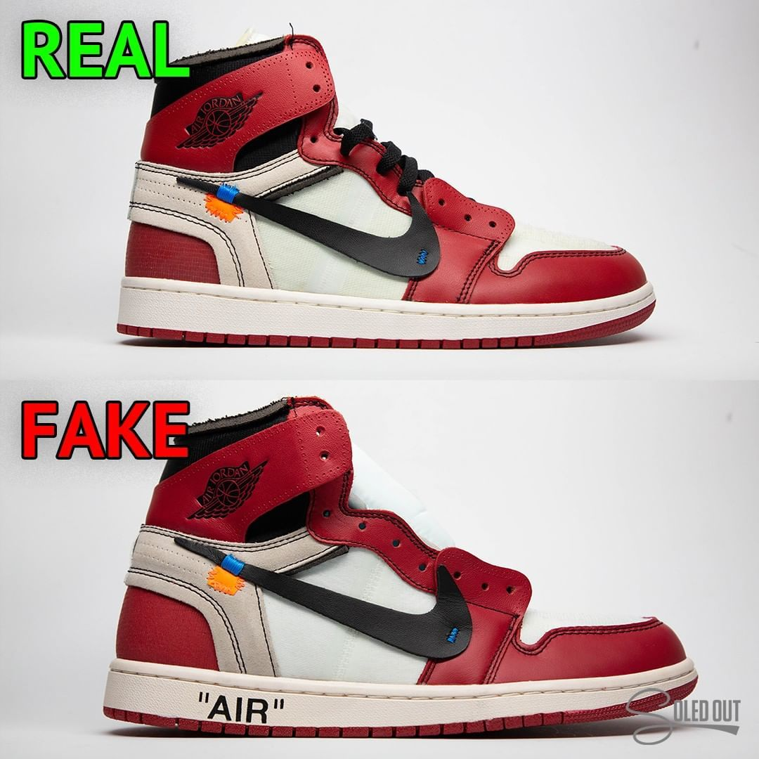 Bottom is FAKE. If you followed soledoutjc you would know