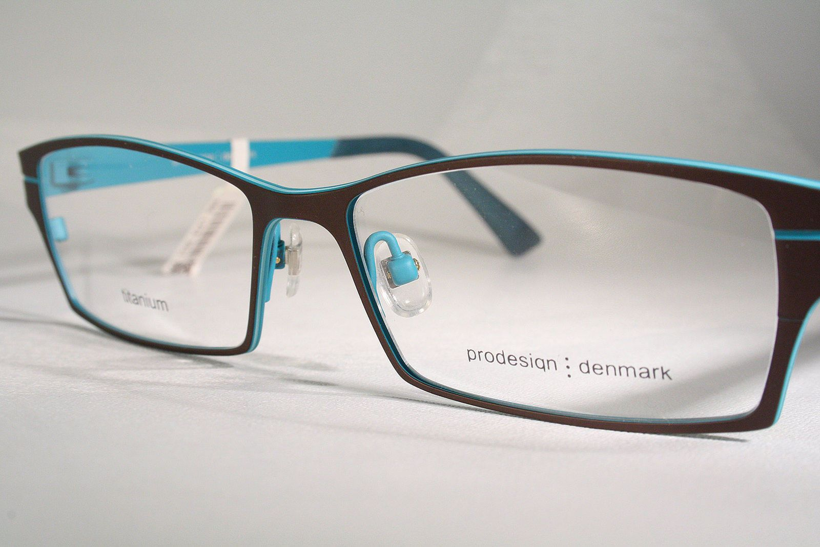 TITANIUM Antiallergenic Danish PRODESIGN Eyeglass Frames Glasses ...