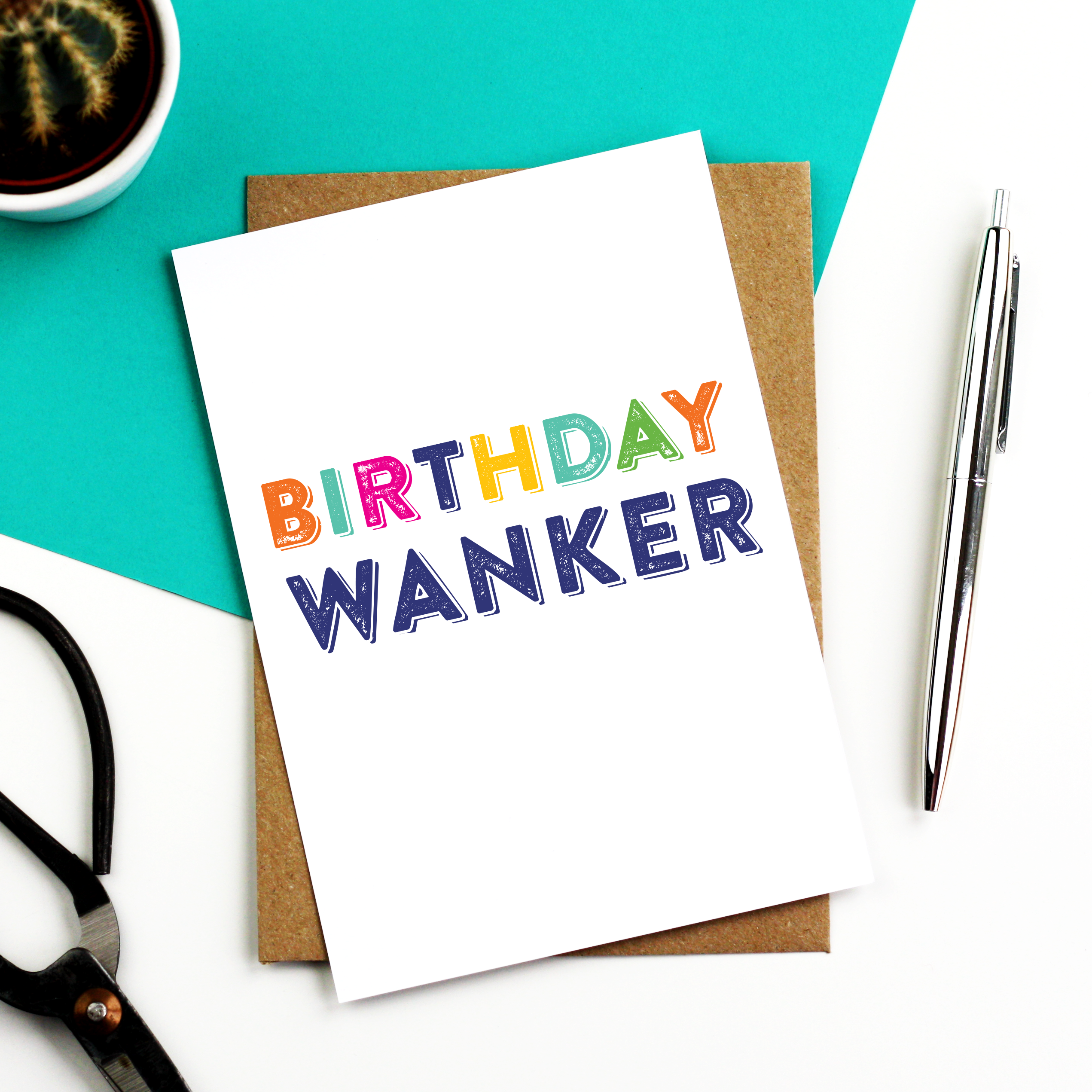 Birthday wanker card funny birthday greetings birthdays and funny our funniest collection of personalised greeting cards and gifts made in m4hsunfo