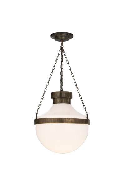 Modern Schoolhouse Lantern In 2020 School House Lighting Glass Pendant Light Interior Light Fixtures